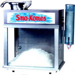 Concession Equipment Sno Cone machine